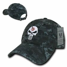 NTG Punisher Skull Military Navy Seal Special Forces Polo Baseball Hat Cap