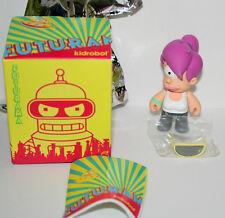 Futurama Leela Series1 Kidrobot Vinyl Figure New NOS Box Opened Complete 2009
