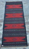Y27, afghan vintage sofreh kilim runner/ tribal sofreh/ turkish rug 2' x 5'1