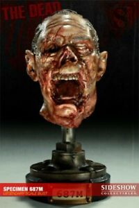 SIDESHOW THE DEAD SPECIMENS  HEAD 687M EDITION BUST 149/500  STATUE