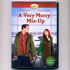 A Very Merry Mix-Up 2013 Hallmark Christmas romance movie, new DVD holiday, Witt