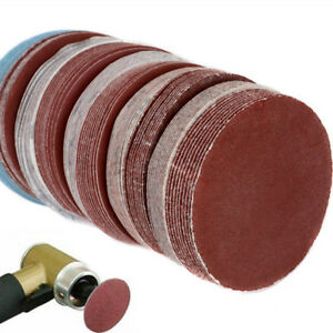 "100 Pcs 3""(75mm) Car SUV Sander Discs Sanding Polishing Pad Sandpaper Set Kit"