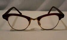 Vintage Art-Craft Women's Cateye Glasses W/Bifocals 1/10 12K Gold Filled
