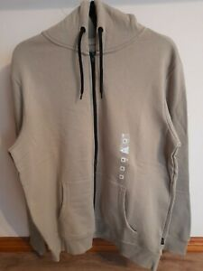 KENJI Mens Warm Jacket Hoodie Size XL Colour Fawn New With Tags
