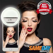 Portable SMART SELFIE 36 LED RING FLASH FILL LIGHT Clip Camera For Mobile Phone