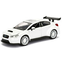 Jada Fast & Furious 8 1:24 Mr.Little Nobody's Subaru WRX White Color Model Gift