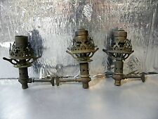 VINTAGE GAS LIGHT FIXTURES ORNATE LAMP ARM VICTORIAN STEAMPUNK ~~FOR PARTS~~