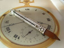 SUPERB SILVER ART NOUVEAU ORNATE PENCIL FOB FOR A POCKET WATCH CHAIN. C~1910.