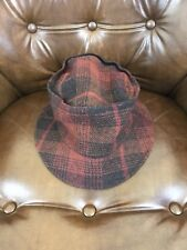 Vintage 80s / 90s Mossimo Wool Blend Plaid Bucket Hat
