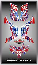 Yamaha YFZ 450R 450X 09-13  ATV QUAD 07- UP SEMI CUSTOM GRAPHICS KIT USA Pride