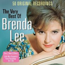 BRENDA LEE - THE VERY BEST OF - 50 ORIGINAL RECORDINGS (NEW SEALED 2CD)