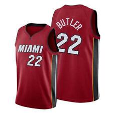 Men's Miami Heat Jimmy Butler #22 red black swingman jersey NEW