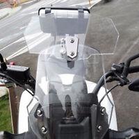 Windschild Windschutzscheibe Transparent für Motorrad Roller Scooter Universal