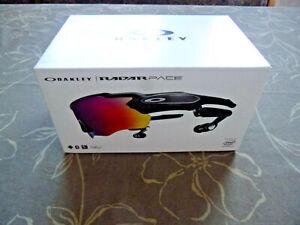 Oakley Radar Pace Polished black Prizm Road + Clear Sportbrille