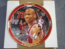 Michael Jordan Chicago Bulls 72 Wins Commemorative Plate Limited Edition