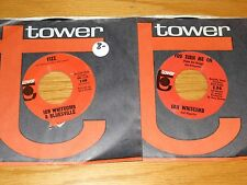 "LOT OF 2 60's ROCK 45 RPM - IAN WHITCOMB - TOWER 120 & 134 - ""YOU TURN ME ON"""