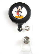 Mickey Mouse Retractable ID Badge/Key Ring Holder