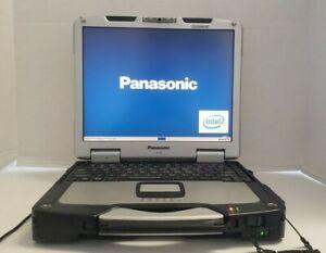 "Panasonic Toughbook CF-30 13.3"" Core 2Duo CPU L7500 @1.60GHz 4GB 500GB HDD W10P"