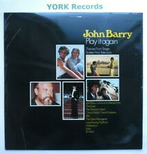 JOHN BARRY -  Play It Again - Excellent Condition LP Record Polydor ACB 00204