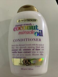 OGX Damage Remedy + Coconut Miracle Oil Extra Strength Conditioner, 13 Ounce