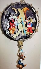 DISNEY MICKEY MOUSE, DONALD, GOOFY ANIMATED TALKING WALL CLOCK