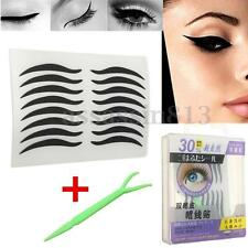 160X Cat Temporary Eyeliner Eyeshadow Sticker Eye Tattoo Makeup Cosmetic + Stick