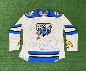 Vintage Reebok Springfield Falcons Jersey size Youth L/XL Autographed?