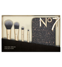 No7 HOLIDAY BRUSH COLLECTION GIFT SET, MAKE UP BRUSHES IN A PRESENTATION BOX