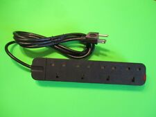 UK4 gang extension lead/adapter to America / USA plug- 2mtr in length.