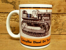 300ml COFFEE MUG, CATERPILLAR DIESEL D4 TRACTOR