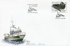 Aland 2018 FDC Fishes Nordic Atlantic Salmon 1v Set Cover Boats Fish Stamps