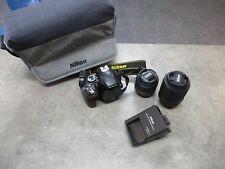 Nikon D3300 avec 2 Objectifs VR II (Occasion)