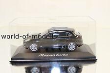 Minichamps WAP0201520E Porsche Macan Turbo noir 1:43 NEUF en emballage d'origine