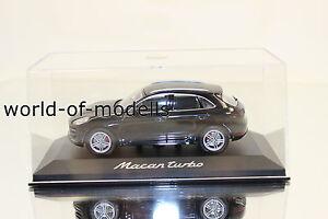 Minichamps WAP0201520E  Porsche Macan Turbo schwarz  1:43 NEU in OVP