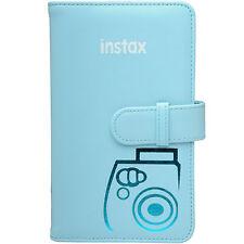 Fujifilm Instax Mini Wallet 108 Photo Album BLUE for 7S 8 9 25 50S 90 Cameras