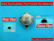 Asko Dishwasher Spare Parts Thermostat for Heating 3 pin/4 pin (D131/D138) Used