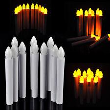 10PCS Flameless Warm White LED AAA Tea Candle Light Wedding Birthday Party Decor