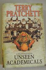 Book Unseen Academicals: (Discworld Novel 37) by Terry Pratchett Hardback, 2009)