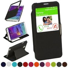 Booklet for Samsung Galaxy Note 4 Protection Cover Cell Phone Case 360° Book
