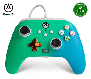 PowerA Spectra Enhanced Illuminated Wired Controller for Xbox One, gamepad, wire