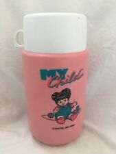 RARE Mattel 1986 My Child Doll THERMOS for Lunchbox
