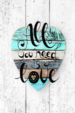 STUNNING LOVE HEART CANVAS #2 SHABBY CHIC HOME DECOR WALL HANGING PICTURE