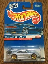 1999 Hot Wheels Mercedes CLK-LM #926 - Gray w/ Gold Wheels - First Edition- MoC