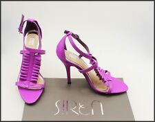 NUDE WOMEN'S MAGENTA  HIGH HEEL DRESS SHOES SIZE  5 AUST MARKED 36 EUR NEW