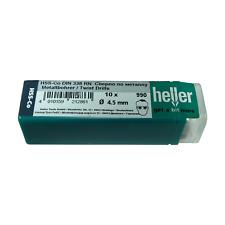 Heller 4.5mm HSS Cobalt Metal Drill Bits 10 Pack HSS-Co - Quality German Tools