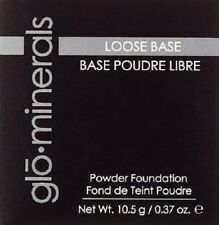 glo.minerals Loose Base Powder Foundation - Beige Light  (0.37 oz / 10.5 g)