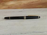 Vintage MONTBLANC Meisterstuck Classique Left-Oblique 144 Fountain Pen, READ!
