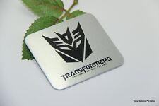 D735 Transformers Decepticon Auto 3D Emblem Badge Aufkleber PKW KFZ Car Sticker