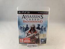 ASSASSIN'S CREED BROTHERHOOD - SONY PS3 PLAYSTATION 3 PAL ITA ITALIANO COMPLETO