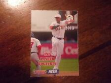2013 PAWTUCKET RED SOX Dunkin Donuts Single Cards YOU PICK FROM LIST $1-$3 OBO